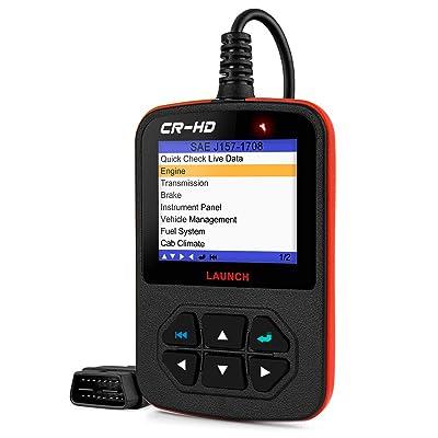 Autel ML529HD OBD2 EOBD Diagnostic Scan Tool Code Reader Diesel Heavy Duty Truck