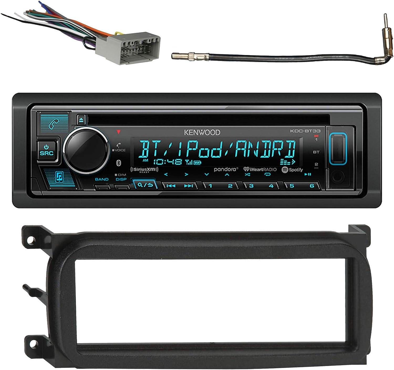 GMC SIERRA TRUCK /& SAVANA VAN Cd Usb Bluetooth Radio Stereo Double Din Dash Kit