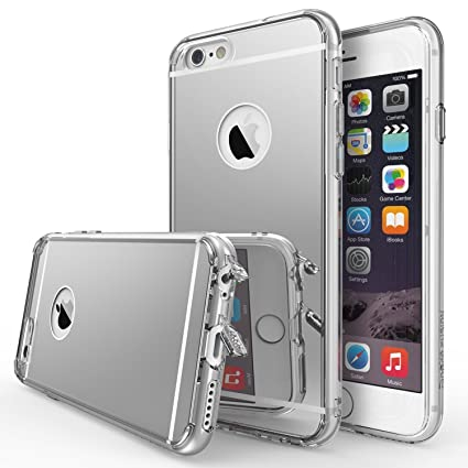 Ringke Fusion Mirror Compatible with iPhone 6S Case Bright Reflection Radiant Luxury Mirror Case Drop Protection, Shock Absorption Technology Attached ...