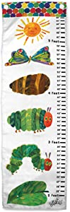 Jay Franco Eric Carle The Very Hungry Caterpillar Growth Chart – Kids Removeable Wall Décor (Official Eric Carle Product)