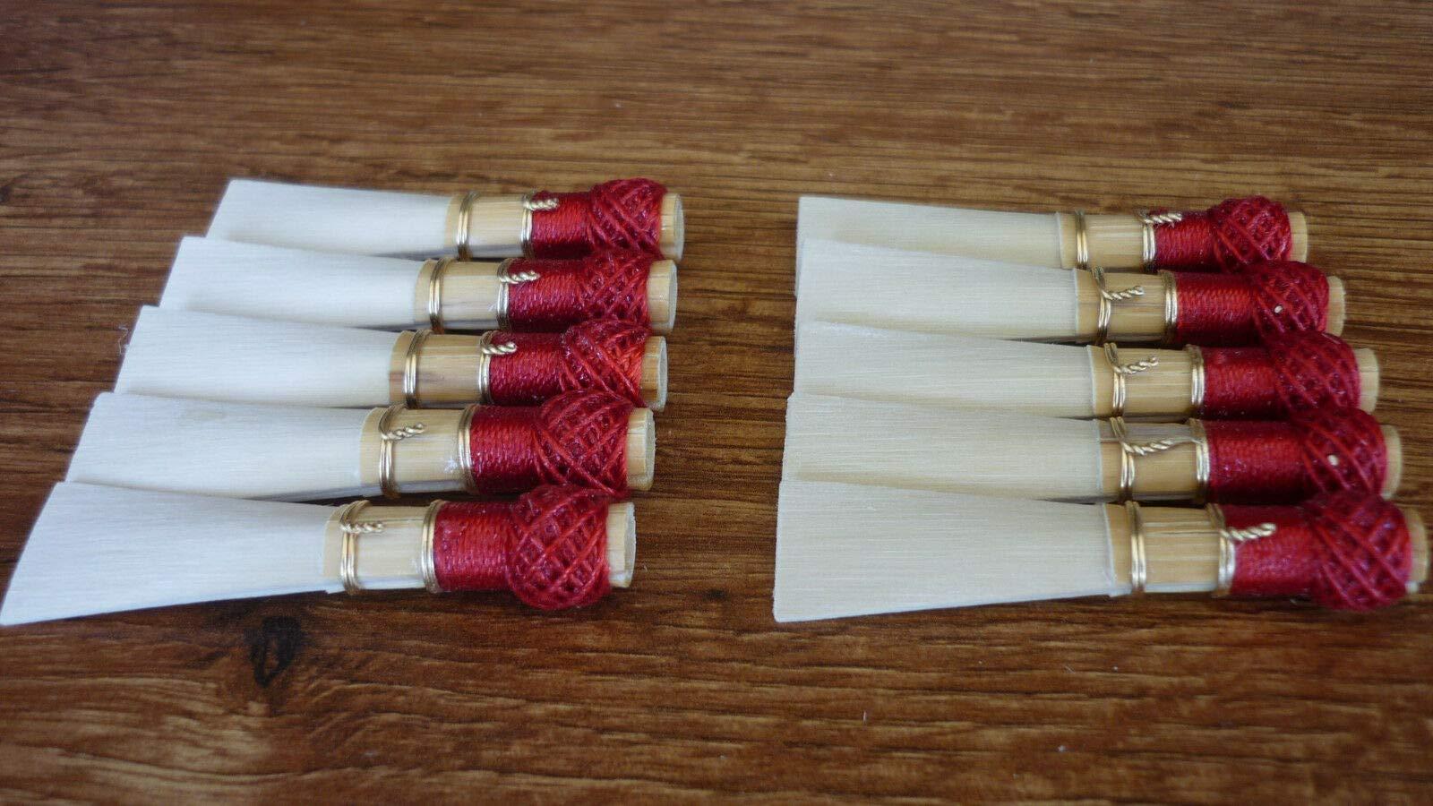 FidgetKute 10 Bassoon Reed Blanks from Marca Cane - Fox2 /dukov_Reeds MaF2 Show One Size by FidgetKute