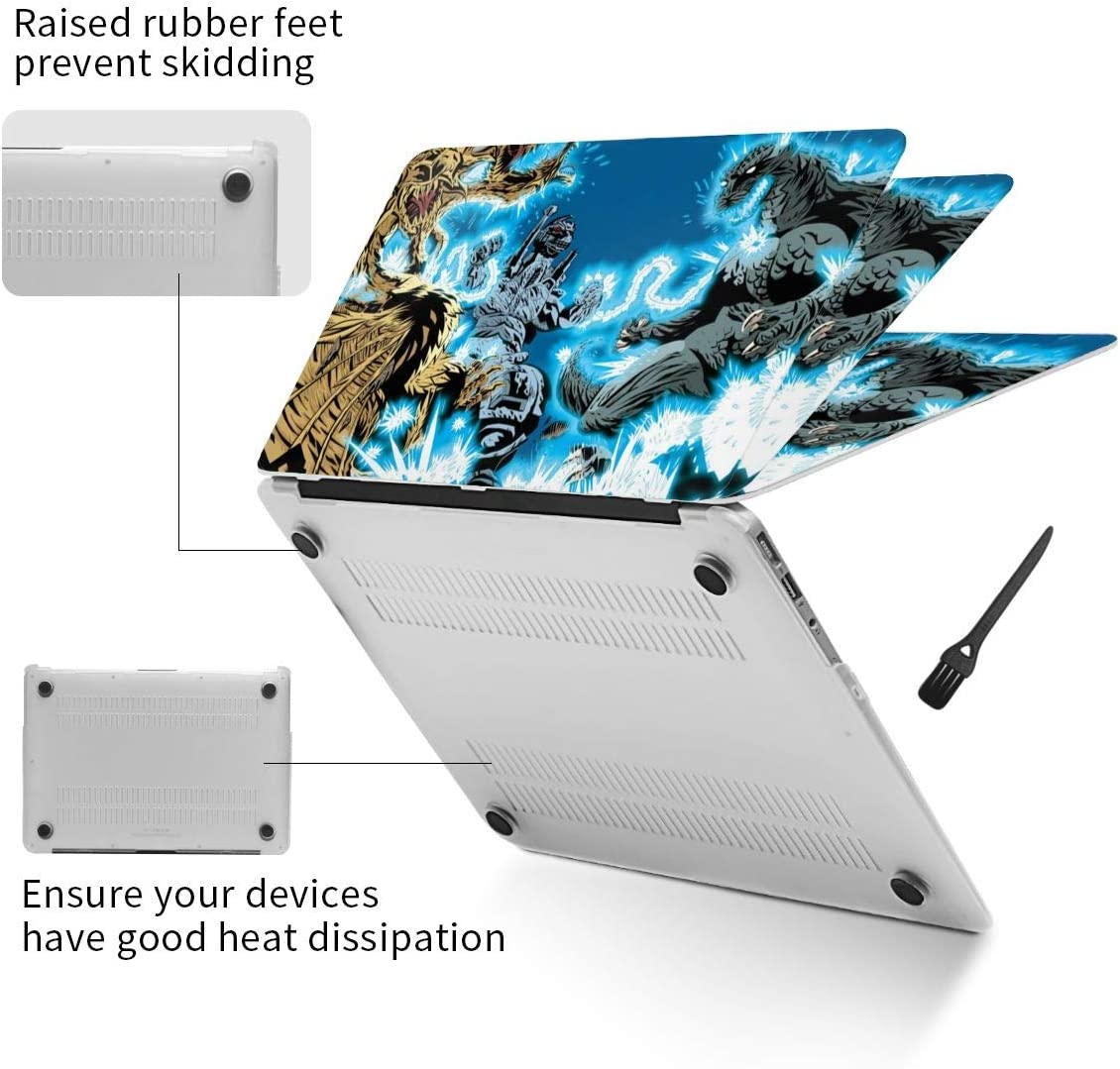 God-Zilla Mechagod-Zilla Compatible with MacBook Air 13 Inch Case 2020 2019 2018 New Version A1932 A2179 with Retina Display Plastic Hard Shell Case Protective Cover for Mac Air 13 with Touch ID