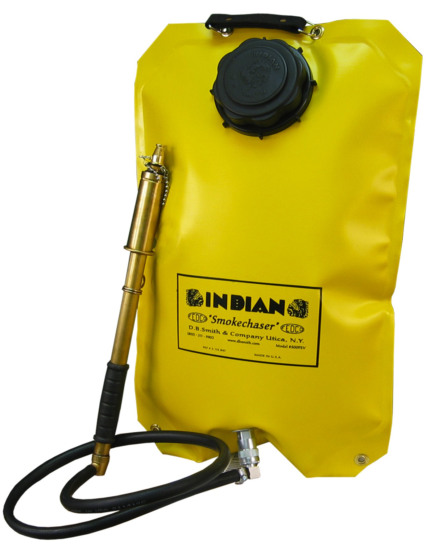 Indian FSV500 Fedco Smoke Chaser Fire Pump, 5 gal, Yellow by Indian