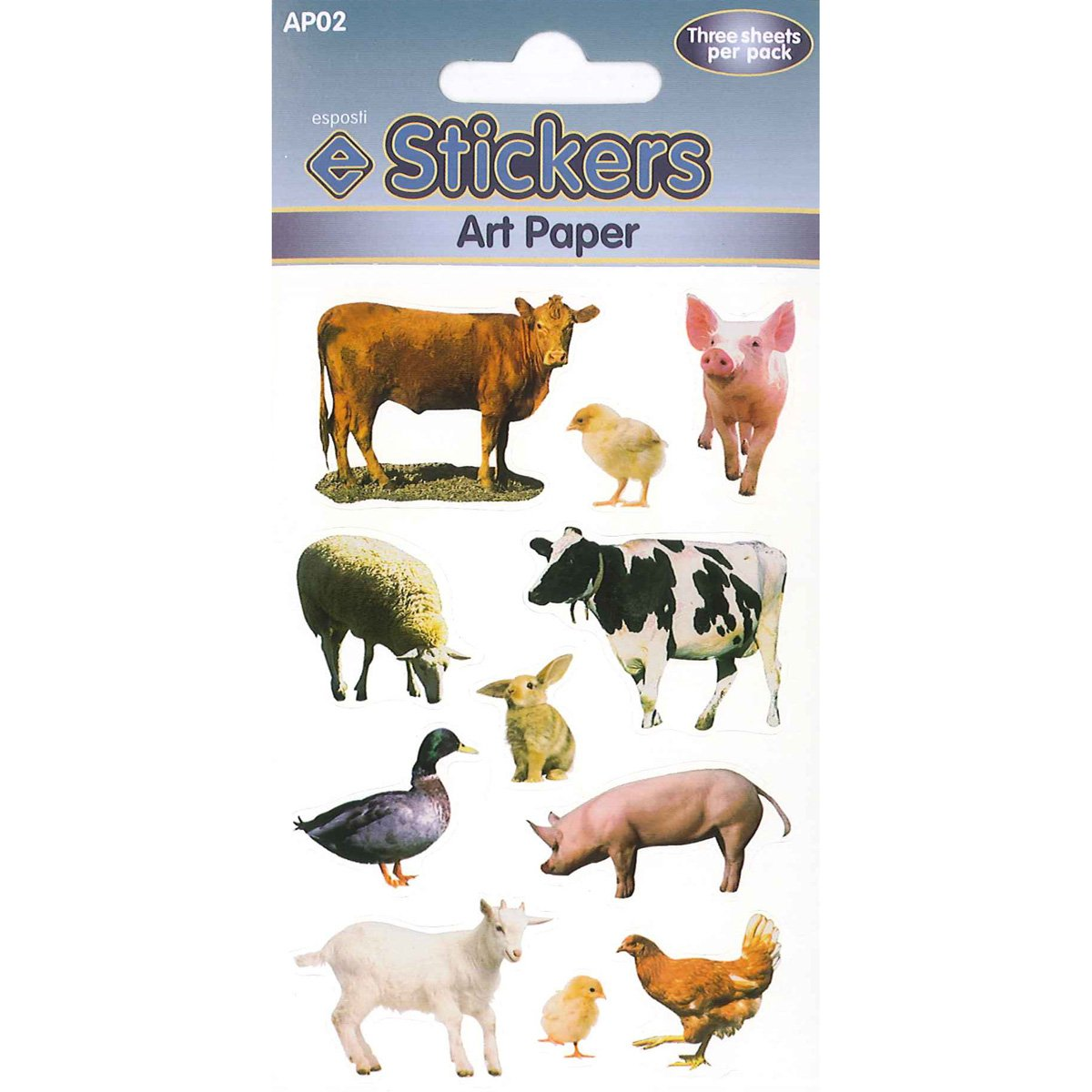 farm animal stickers amazon co uk office products