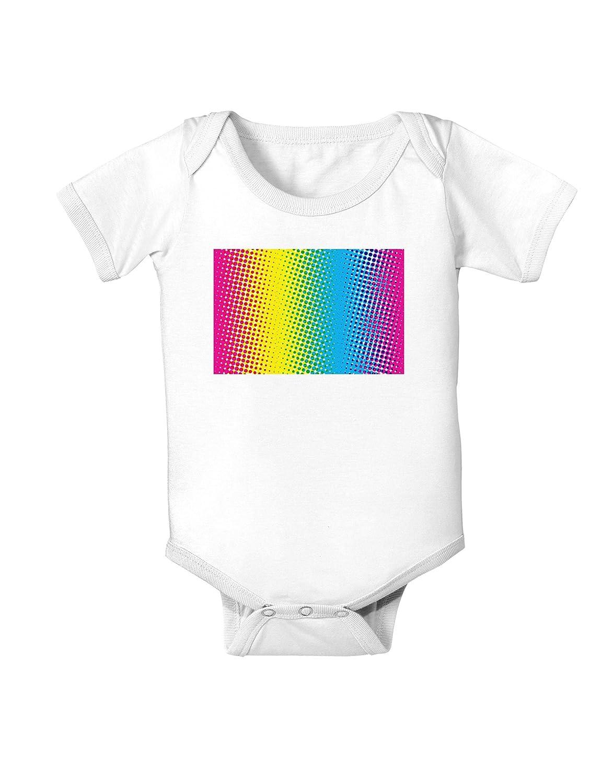 CMY Graphic Rainbow Infant One Piece Bodysuit