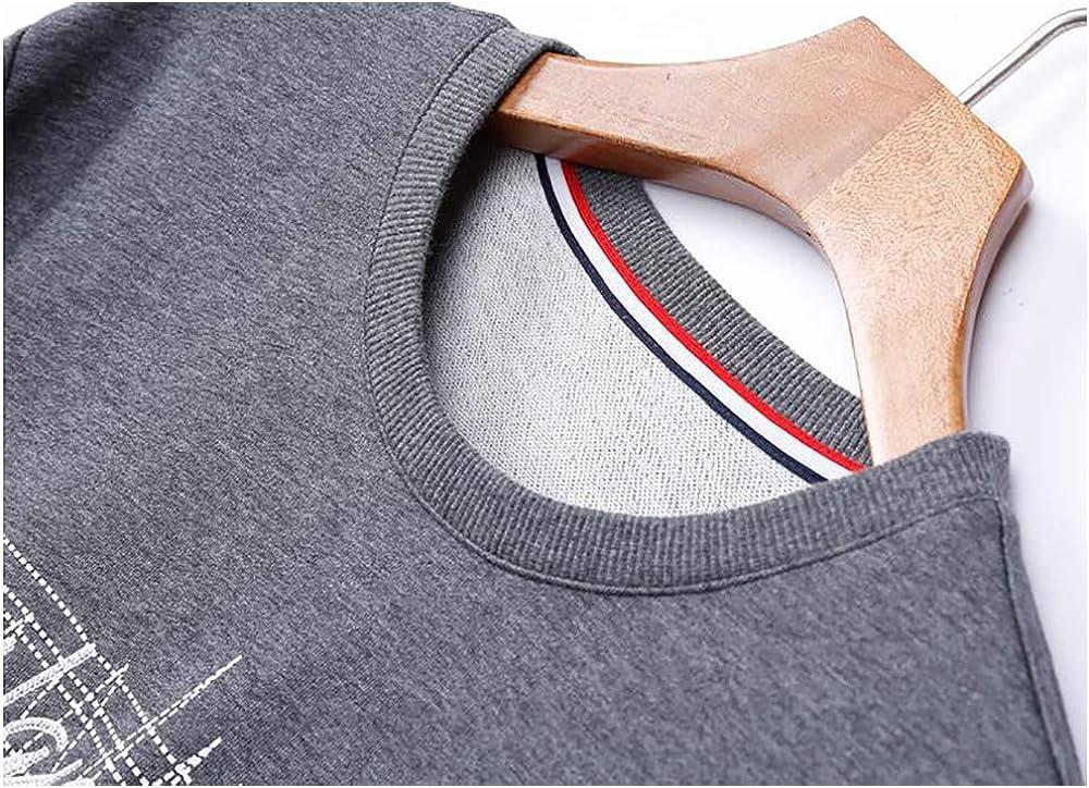CWEAR, Sweatshirts Männer, Herren Sweatshirt ohne Kapuze, Casual Tops für Männer, Plus Größenpullover, Pullover mit Rundhalsausschnitt, Herren Sportswear, Pullover Schwarz