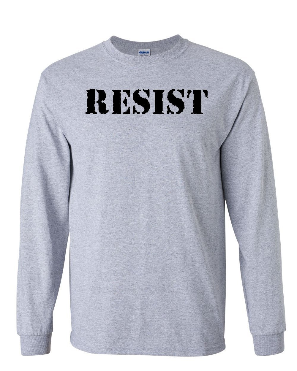 Resist T Shirt Political Anti Trump Protest Rebel Impeach Fight Tee