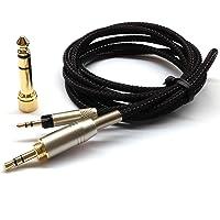 NewFantasia Replacement Audio Upgrade Cable for Sennheiser HD598 / HD558 / HD518 / HD598 Cs / HD599 / HD569 / HD579 Headphones 3meters/9.9feet