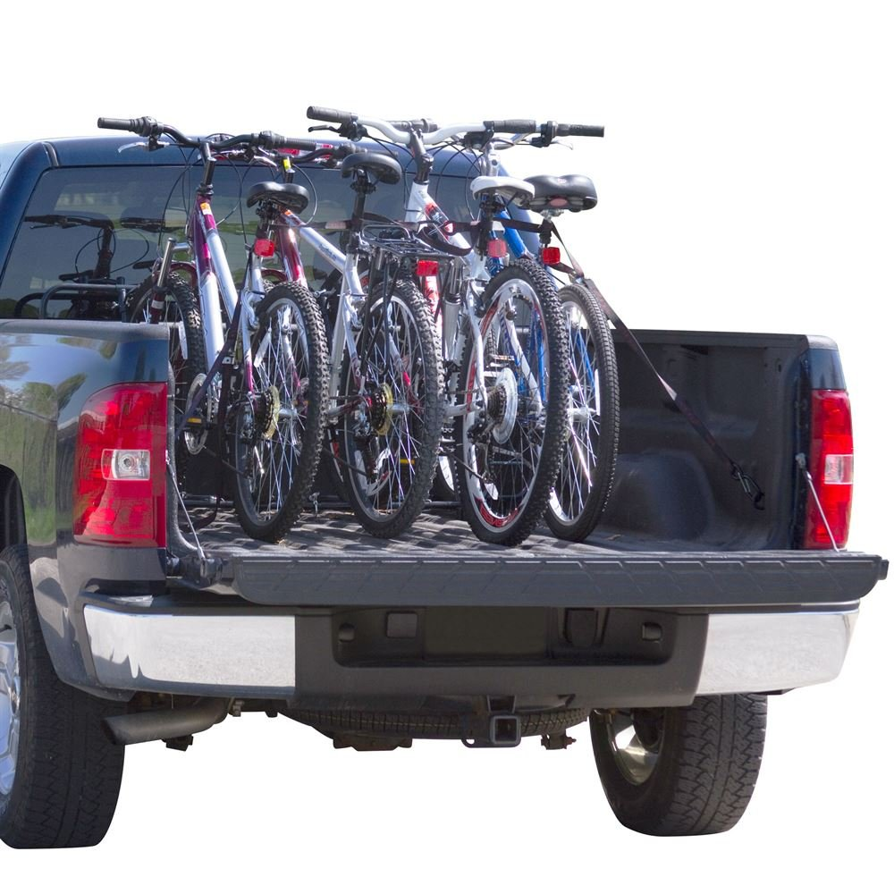 Apex Rage Powersports TBBC-4 4-Bike Pickup Truck Bed Bicycle Rack