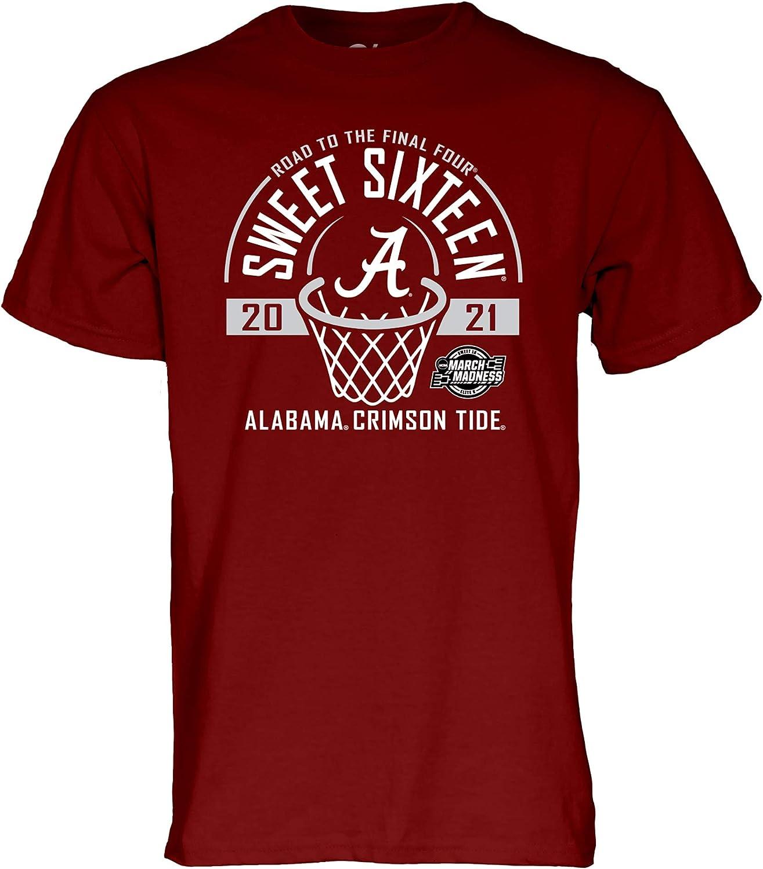 NCAA Sweet 16 2021, Team Color T Shirt, College, University