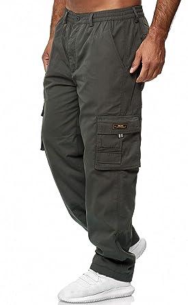 Egomaxx Pantalones Termicos De Carga Para Hombres Forrados De Trabajo De Invierno Amazon Es Ropa Y Accesorios