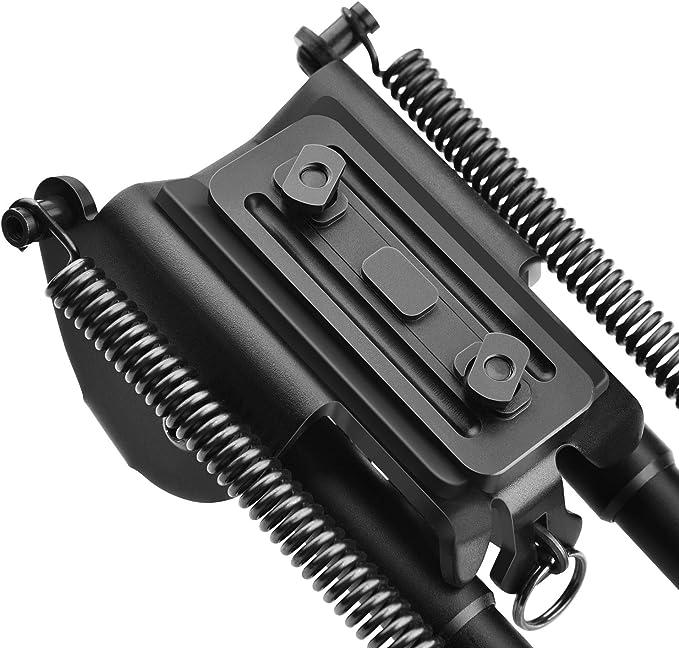 CVLIFE 6-9 Inches Bipod Lightweight Rifle Bipod 0.7 lbs Directly ...