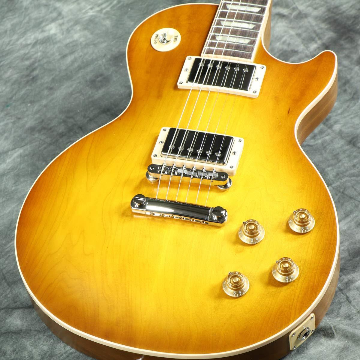 Gibson USA/Les Paul Standard 2019 Faded -Satin Honeyburst 60s Plain Top ギブソン   B07PMH7RCF