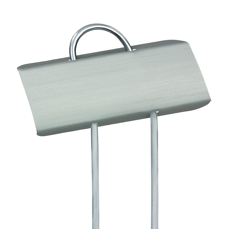 GardenMate® Banner Lot de 25 marque plantes en acier galvanisé métal zinc
