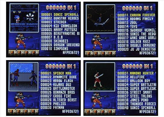 Ipro PXP3 Vídeo Consola Juegos 16 Bit Handheld Game Console ...