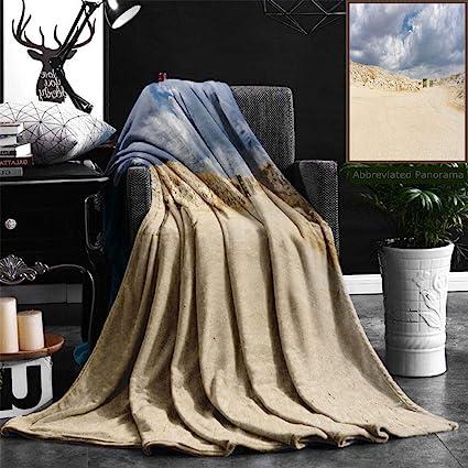 Amazon com: Nalagoo Unique Custom Flannel Blankets Limestone