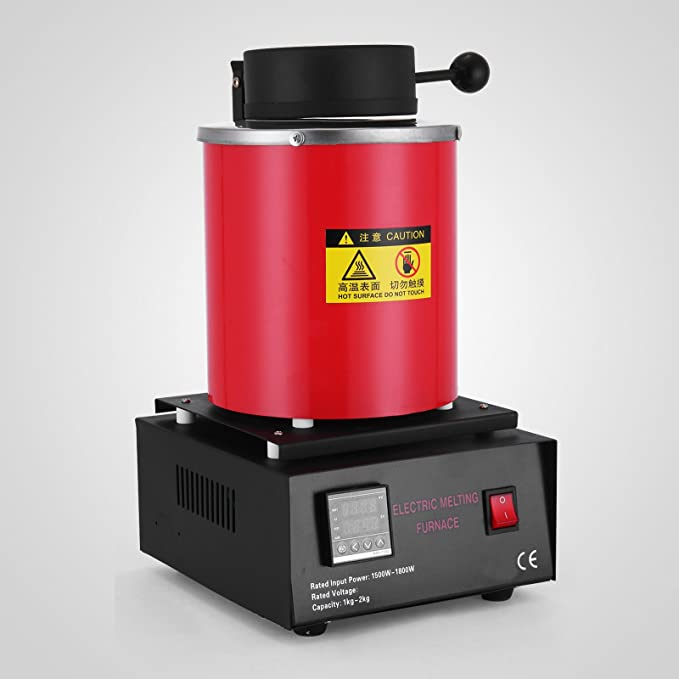 Autovictoria Schmelzofen Gold Schmelzen Ofen Horno de Fusión Cchnell Melting Furnace 1100 ℃ (2KG): Amazon.es