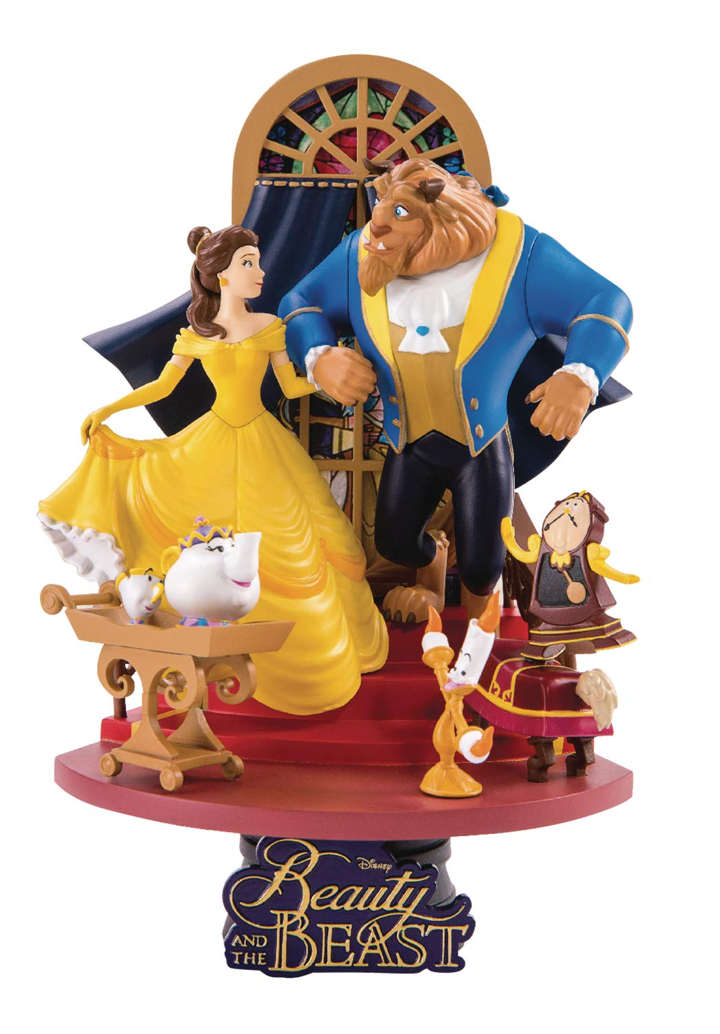 Beast Kingdom Beauty & The Beast Ds-011 D-Stage Series Statue, 6 inches, Model Number: MAY189045