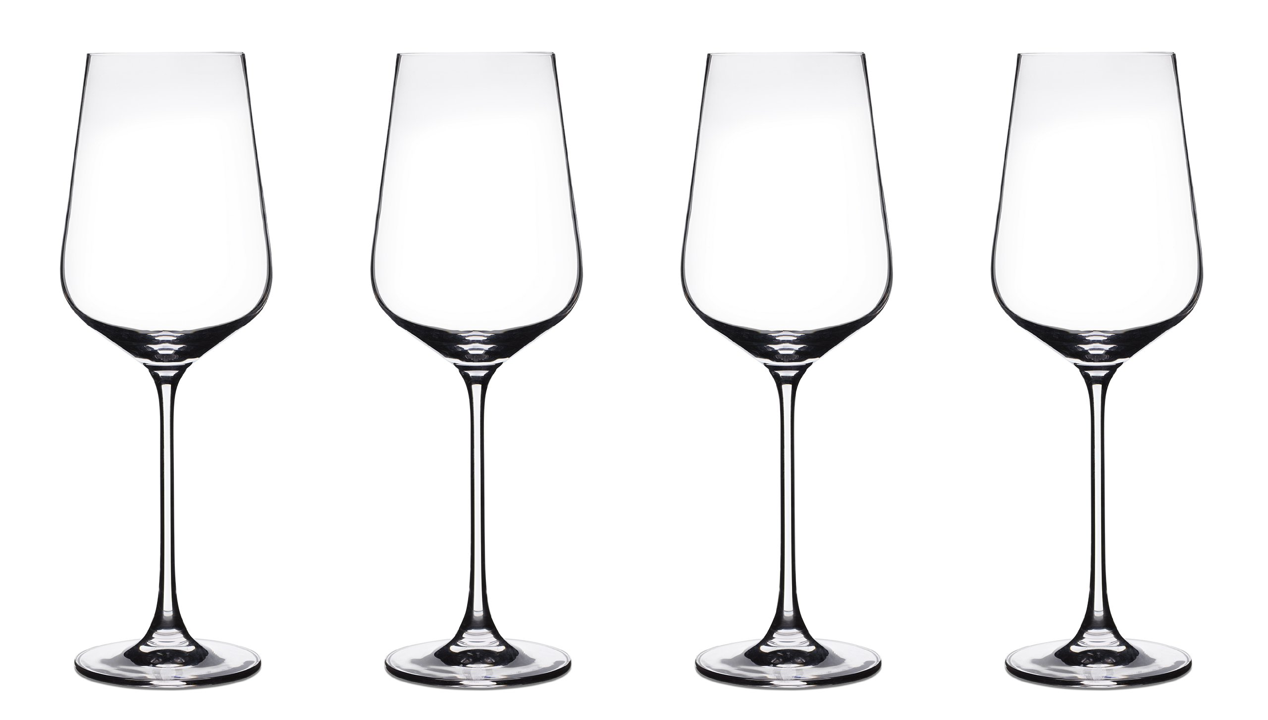 Cuisinart CGE-01-S4AP Elite Vivere Collection All Purpose/Red Wine Glasses, Set of 4