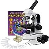 Amazon.com: AmScope M150C-I 40X-1000X All-Metal Optical
