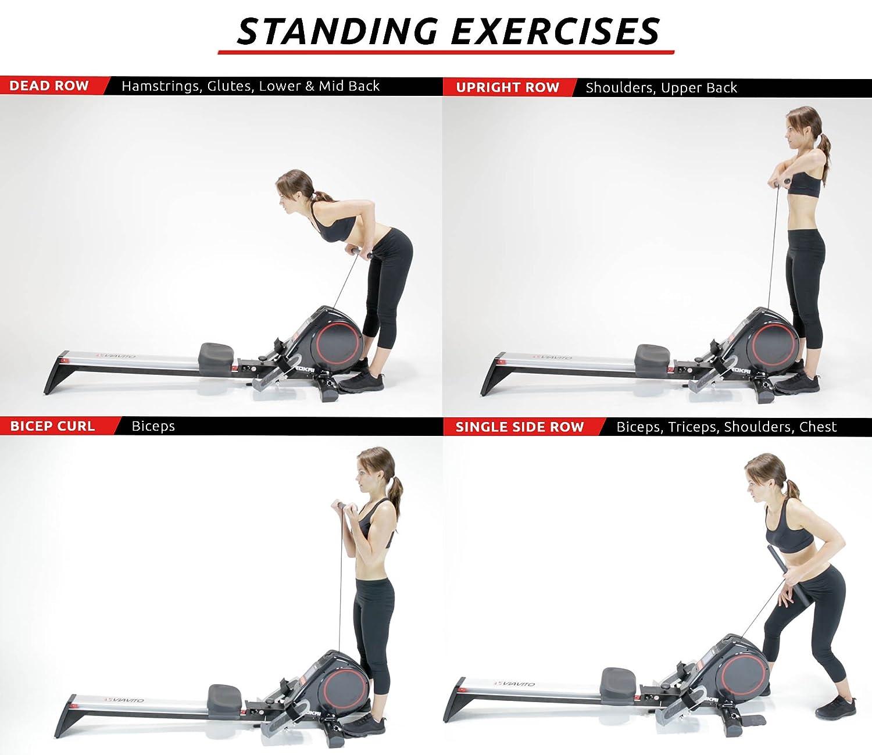 Viavito Rokai Folding Multi-Function Rowing Machine