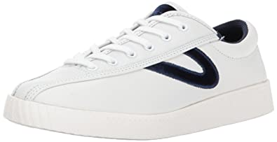 premium selection 2f154 ab481 Tretorn Women s NYLITE15PLUS Sneaker, White Blue, ...
