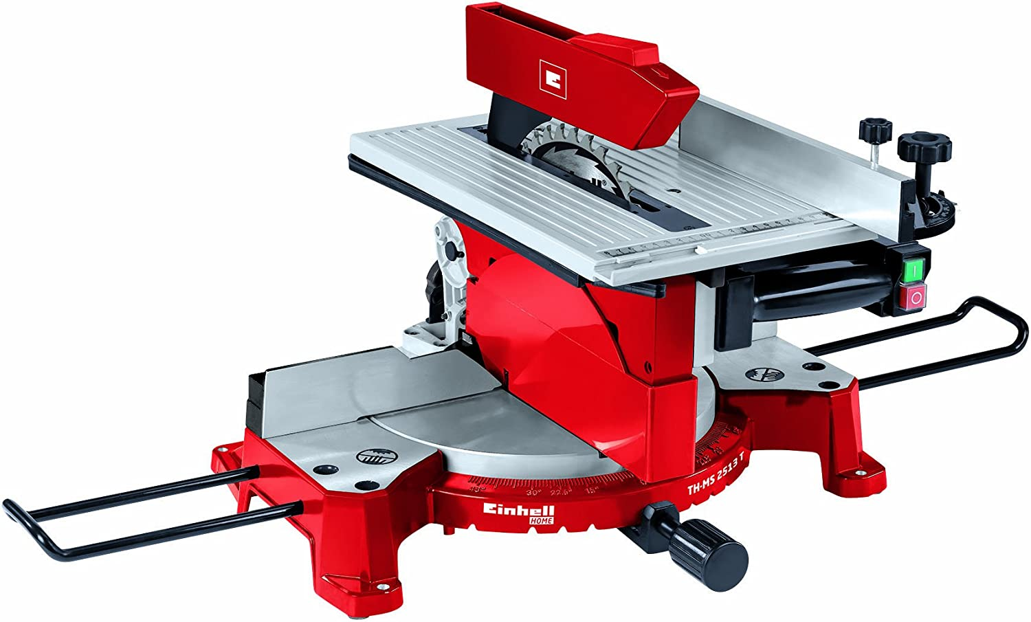 Einhell TH-MS 2513 T Ingletadora de doble corte, 1800 W, 230 V ...