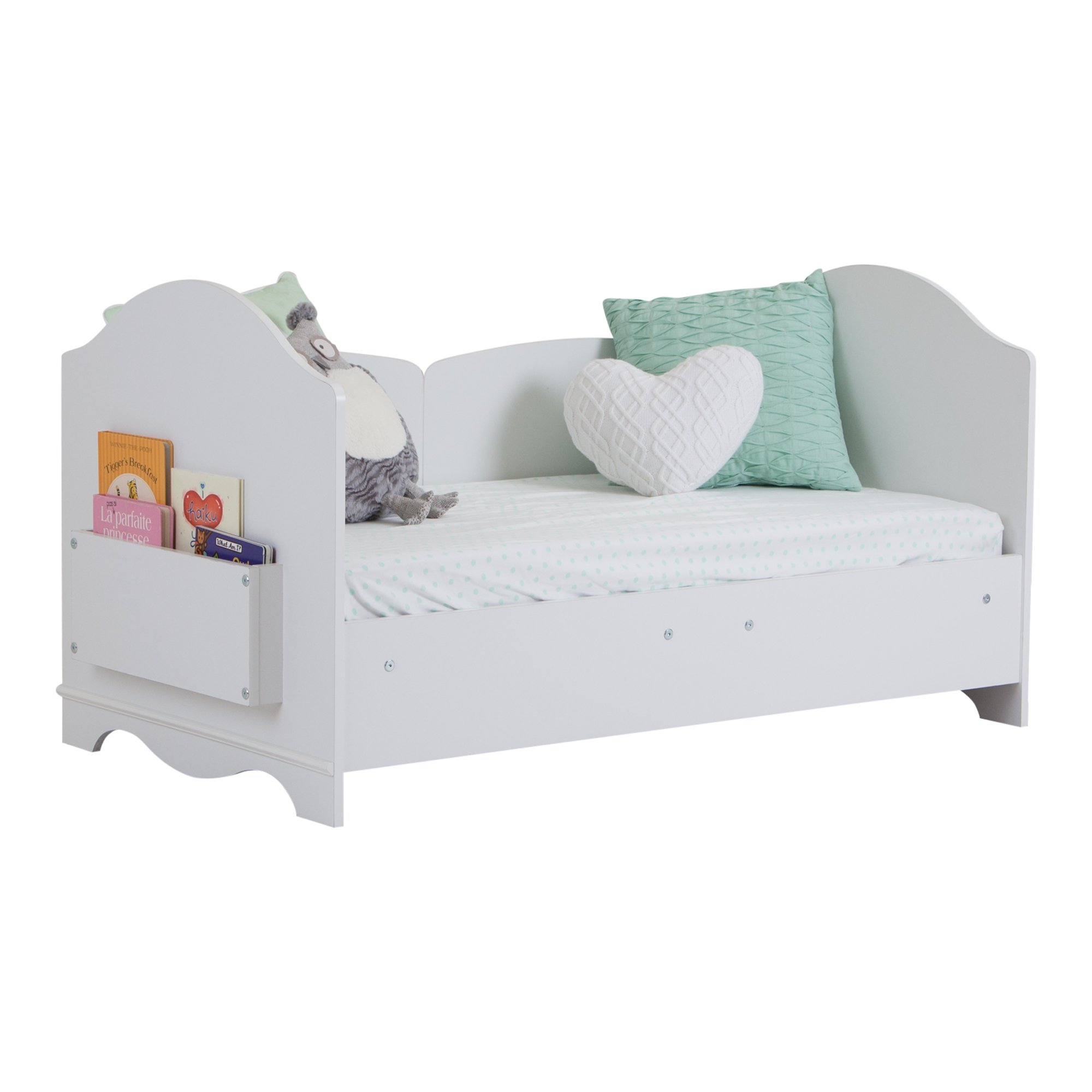 South Shore Savannah Toddler Bed, Pure White