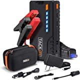 TACKLIFE T6 800A Peak 18000mAh Car Jump Starter (up to 7.0L Gas, 5.5L Diesel Engine) with Long Standby, Quick Charge…