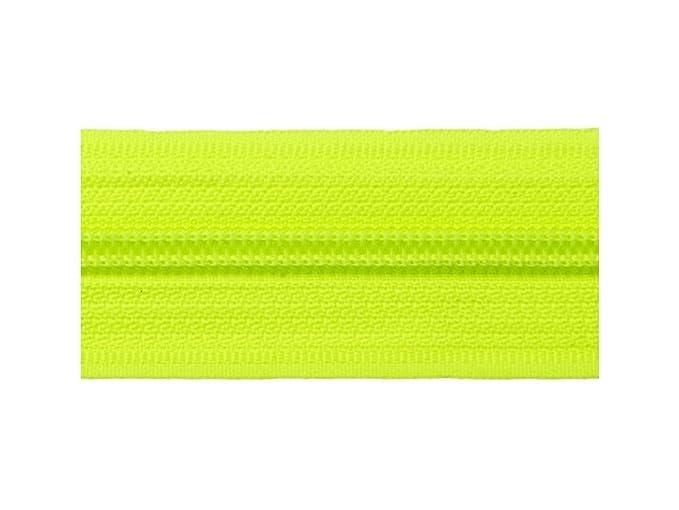 hellgrün 5 mm 20 Meter endlos Reißverschluss