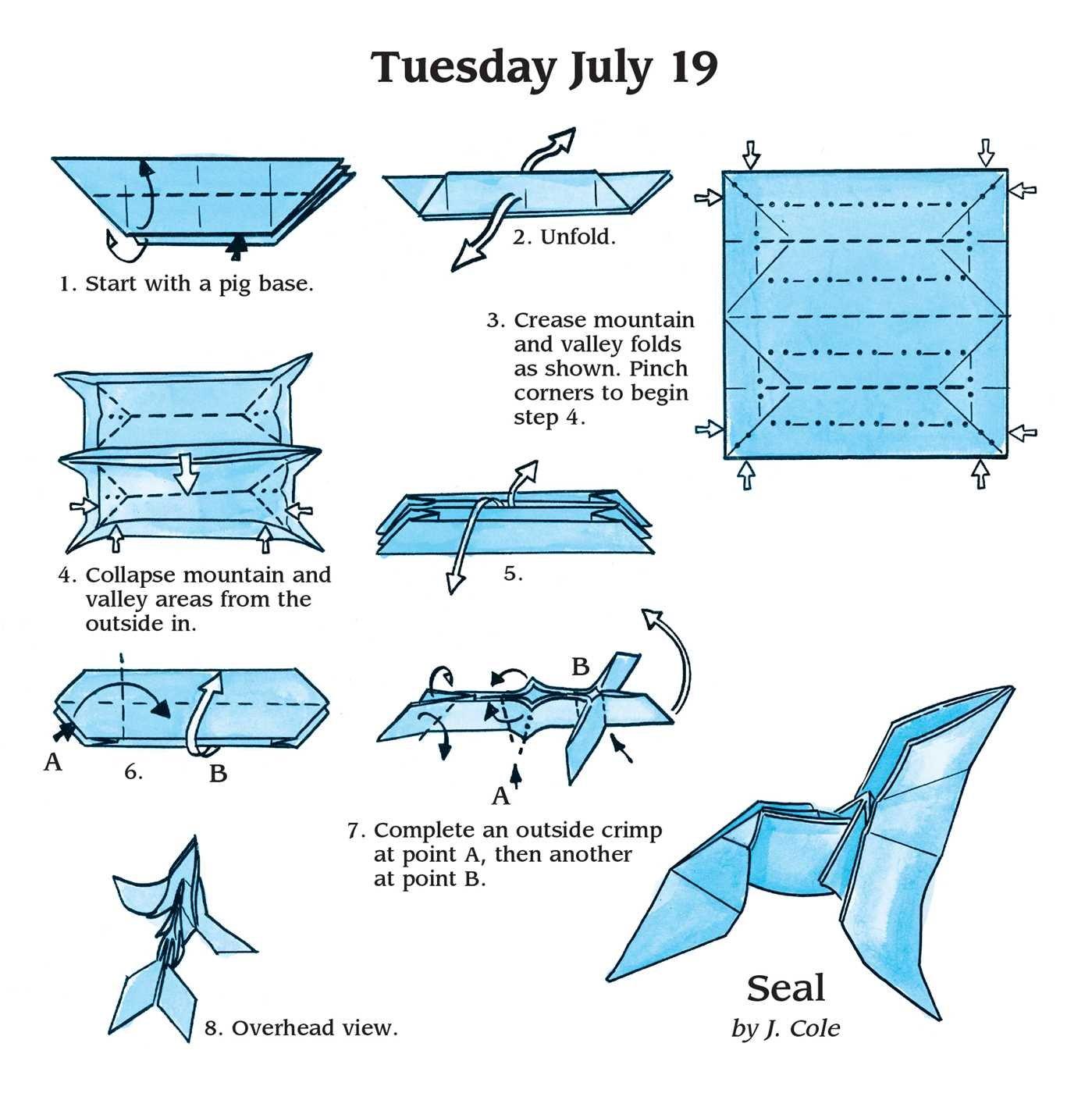 Easy origami fold a day 2016 calendar jeff cole 9781449466473 easy origami fold a day 2016 calendar jeff cole 9781449466473 amazon books jeuxipadfo Gallery