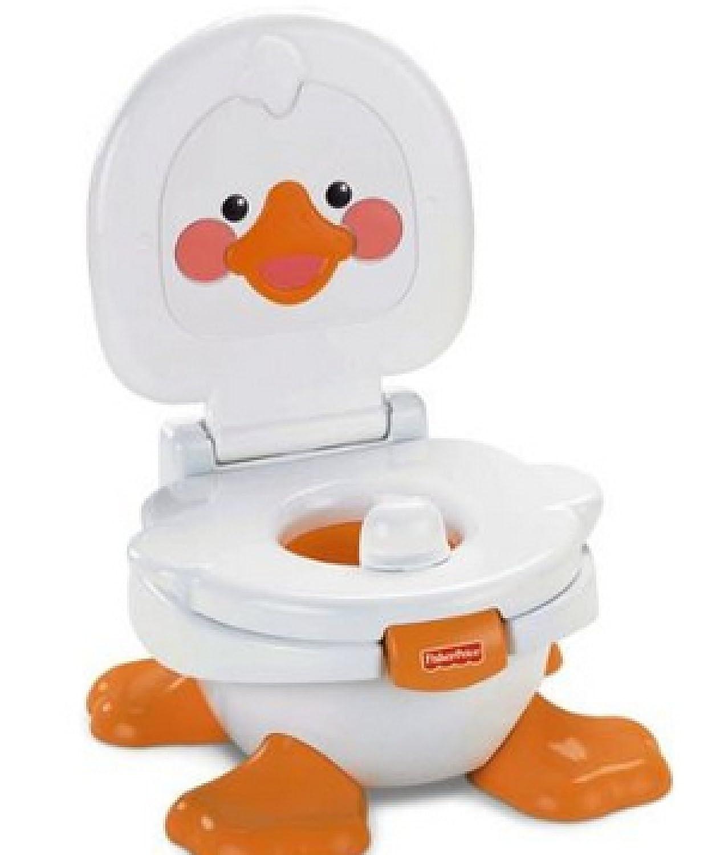Mattel T6211 - Fisher-Price Baby Gear Ducky Töpfchen & Fußbank [並行輸入品]   B013Z9LV3C