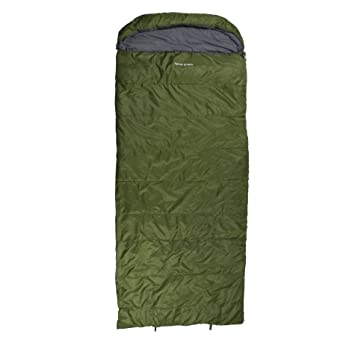 10T Outdoor Equipment 10T Kenai Green Saco de Dormir de Manta, Unisex, Verde,