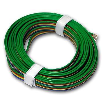5m Kupferlitze 4-adrig 0,14mm² Kabel ideal RGB: Amazon.de: Baumarkt