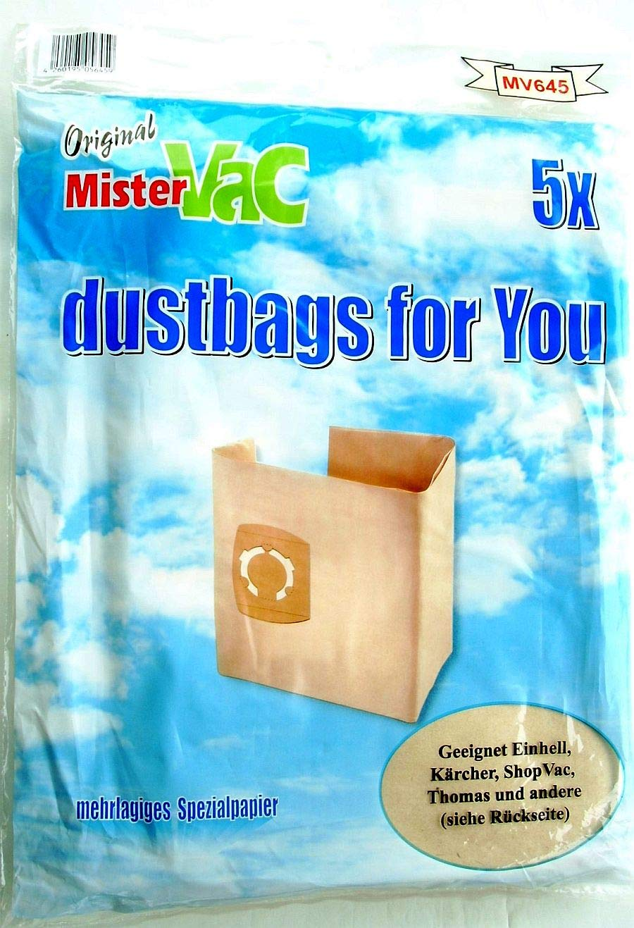 20Bolsas de aspiradora polvo bolsas de papel fülte rtüten apto ...