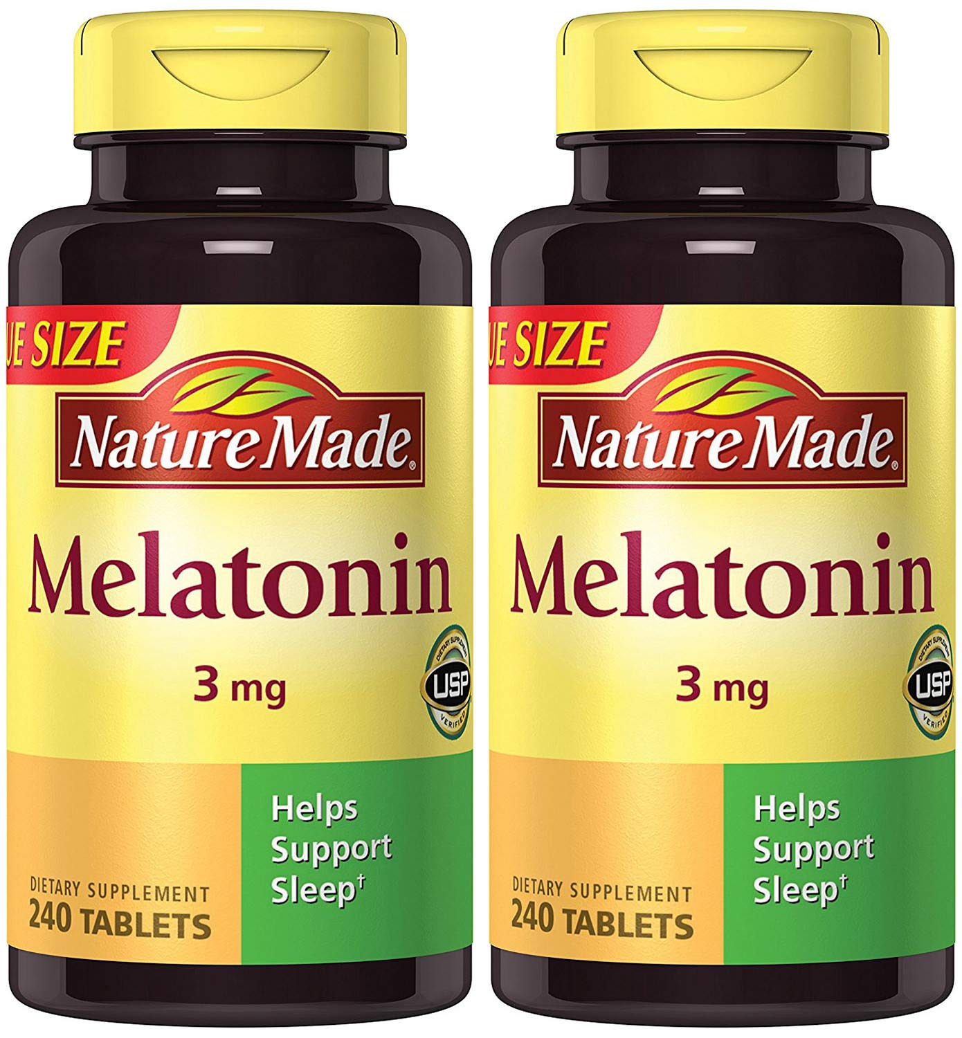 Amazon.com: Nature Made Melatonin 3 mg, 240 Count (2 Bottles): Health & Personal Care