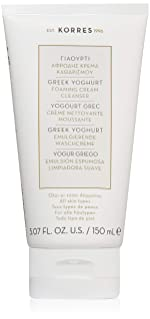 KORRES Greek Yoghurt Foaming Cream Cleanser, 5.7 fl. oz.
