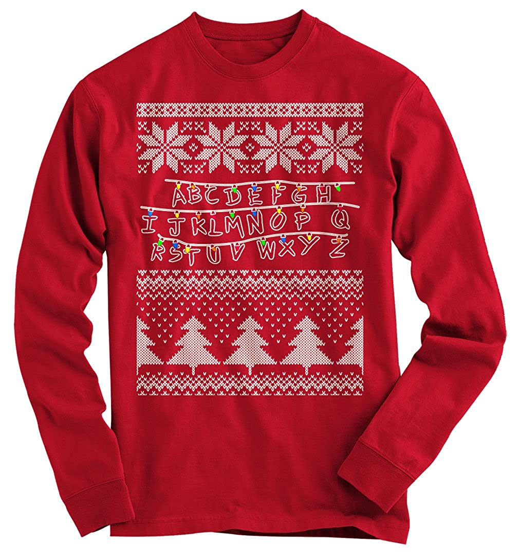 Gnarly Tees Men's Stranger Things Ugly Christmas Sweater