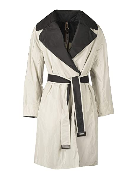 Max Mara Mujer 90212197000048 Blanco Poliéster Trench Coat: Amazon.es: Ropa y accesorios
