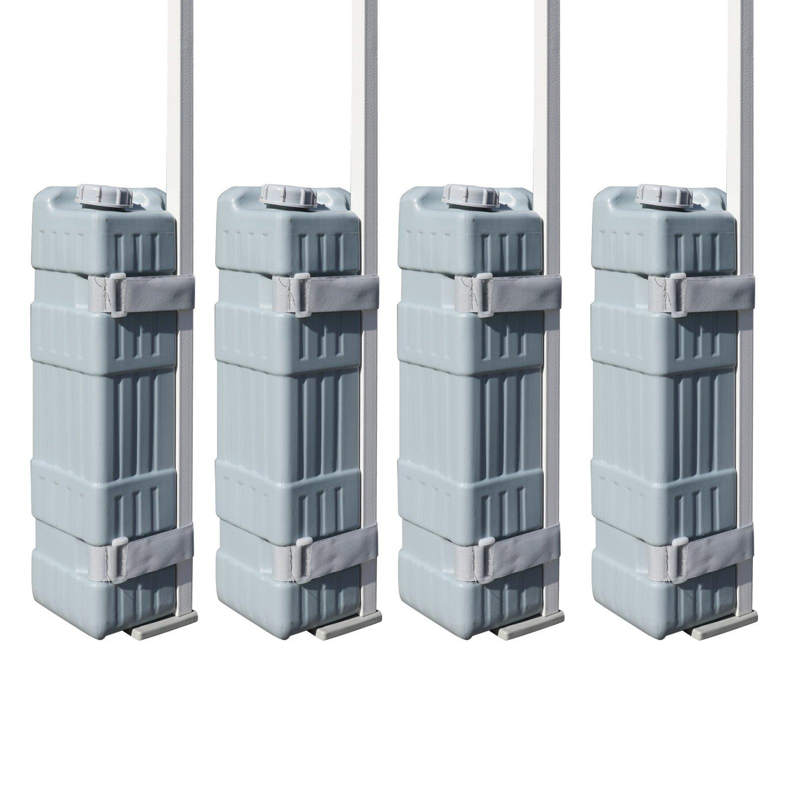 Eurmax Universal Canopy Water Weight Feet (Set of 4)