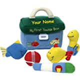 Personalized GUND My First Tackle Box Plush Stuffed Baby Playset with Mini Accessories