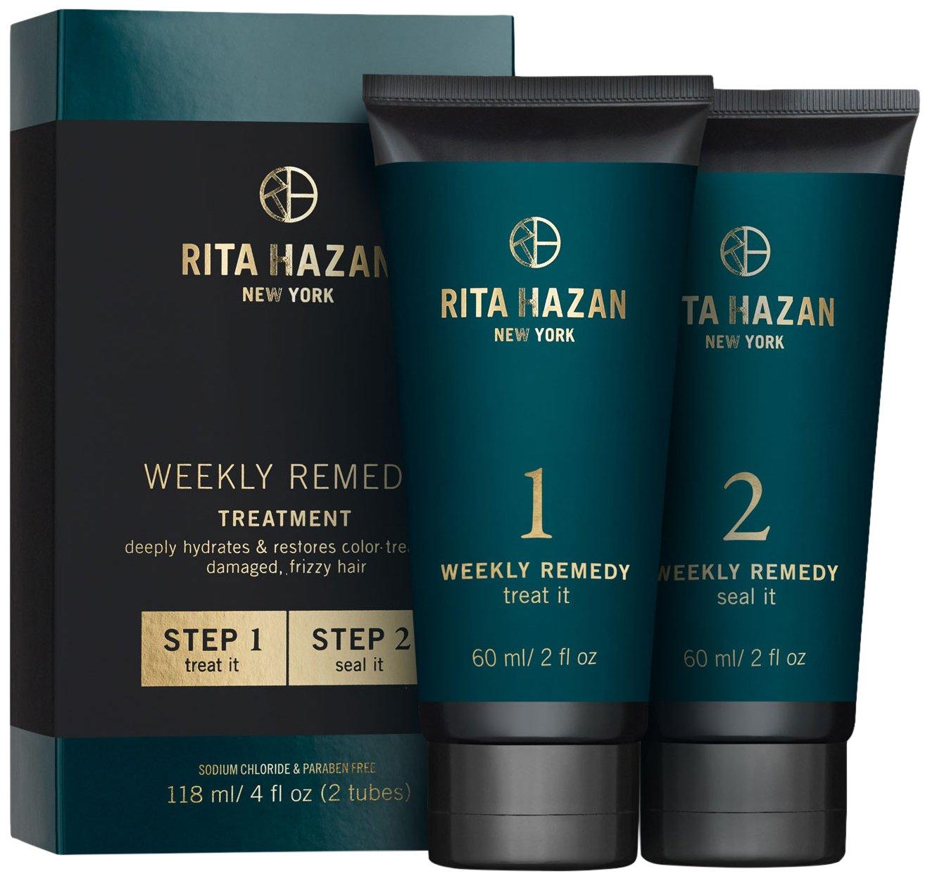 Rita Hazan- Two Step Deeply Hydrating and Restorative Weekly Remedy Cream Kit
