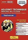 Concours Adjoint technique principal de 2e classe - Catégorie C - Tout-en-un : Concours externe, interne et 3e voie, et examen professionnel 2020