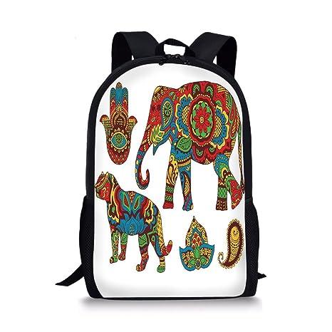 8c22cb69e134 Amazon.com  iPrint School Bags Hamsa