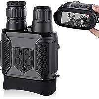 Binoculares Digitales Vision Nocturna, Tomar Fotos y Videos -Equipo de Espionaje infrarrojo de 3.5-7x31mm,850nm IR…