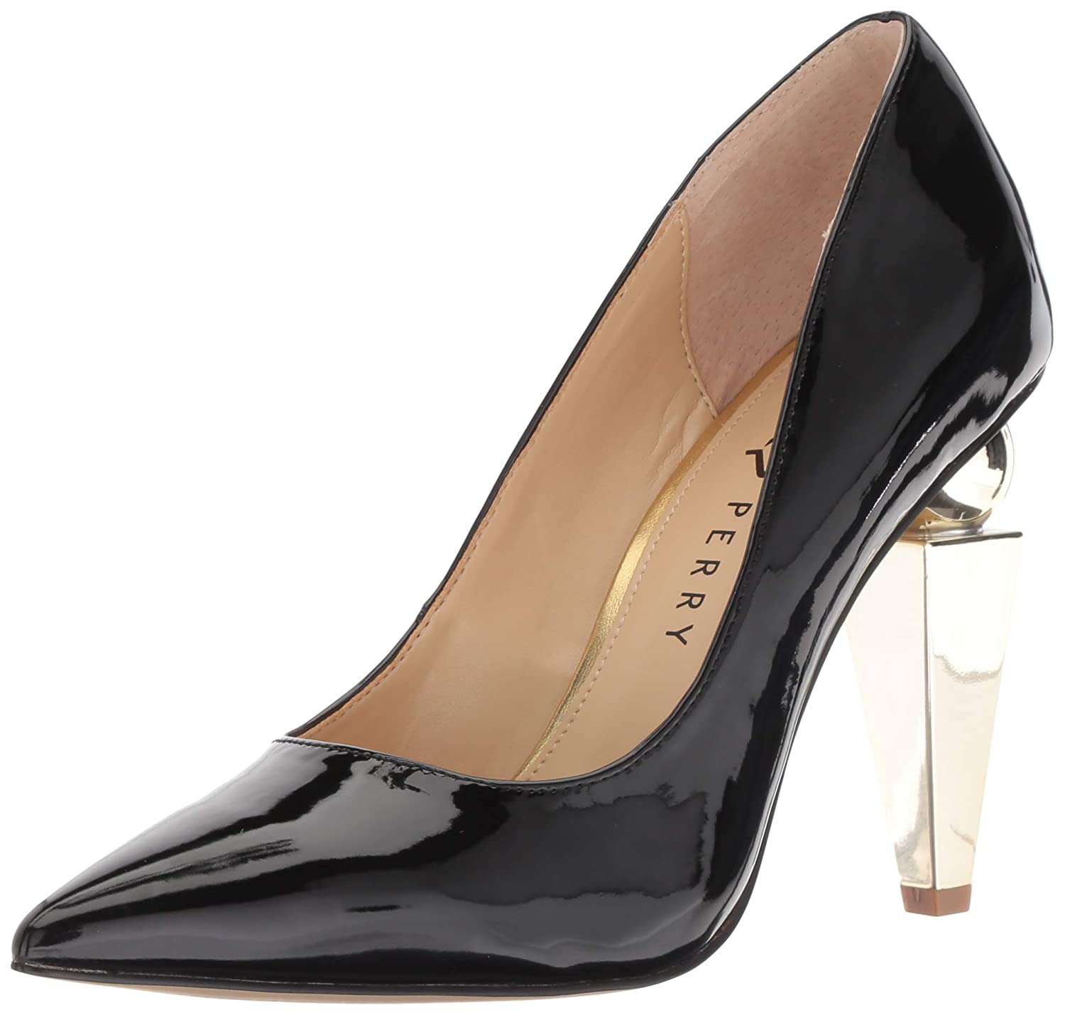 Katy Perry Womens Kp0559 Pointed Toe Ankle Wrap Classic Pumps