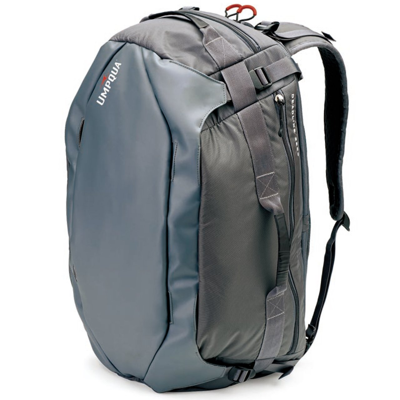 Umpqua Deadline 3500 Wet/Dry Duffel Bag - 3500cu in Slate Gray, One Size