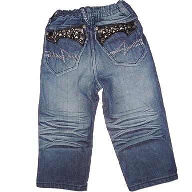 275397ee31 Charms Kinder Baby Jungen Designer Jeans Hose Denim Blau mit Nieten ...