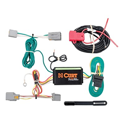 CURT 56218 Vehicle-Side Custom 4-Pin Trailer Wiring Harness for Select Ford Transit Connect: Automotive [5Bkhe0810157]
