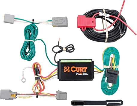 Amazon.com: CURT 56218 Vehicle-Side Custom 4-Pin Trailer Wiring Harness for  Select Ford Transit Connect: AutomotiveAmazon.com